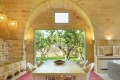 Masseria Trapana has a touch of the Spanish hacienda about it.