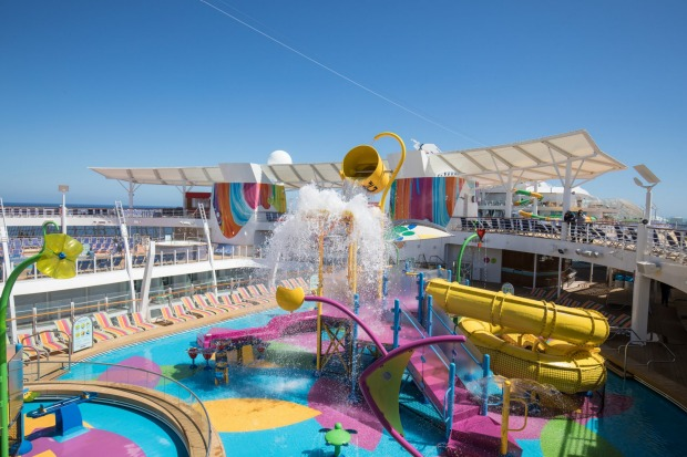 Splash Away Bay water fun park.