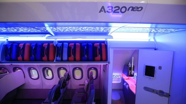 The technology aims to give flight attendants a more detailed survey of the cabin.