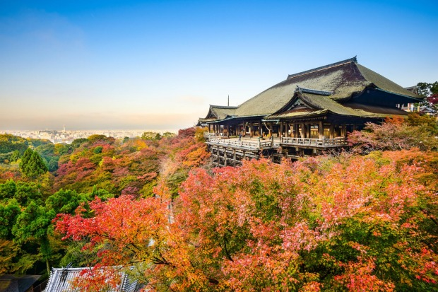 KIYOMIZU-DERA TEMPLE: There's a reason this is one of Kyoto's busiest temples: it's World Heritage listed and sits high ...