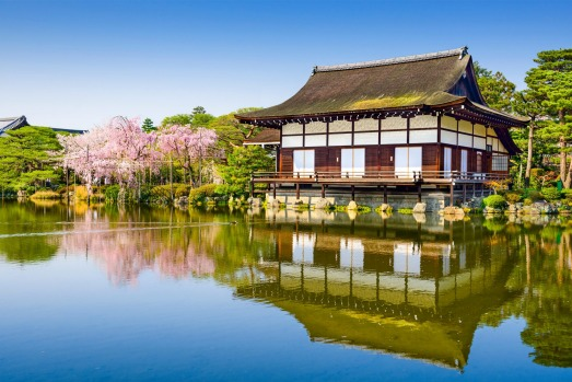 HEIAN-JINGU SHRINE: This Shinto shrine, built in 1895, is new by Kyoto standards but recreates a former imperial palace ...