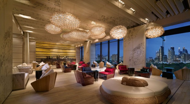 1 SO SOFITEL, BANGKOK: Christian Lacroix and several Thai designers dreamed up this hotel of city vistas, fibre-optic ...