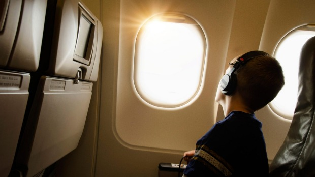 A 12-year-old Sydney boy has used a family credit card to fly solo to Bali.