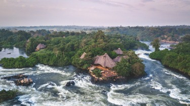 OUTDOOR BATH AT WILDWATERS LODGE, UGANDA Outdoor baths are hardly a new concept but Wildwaters Lodge takes it to the ...