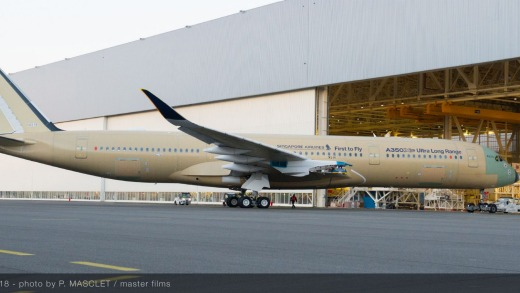 The Ultra Long Range version of the Airbus A350 XWB, MSN 216, has successfully completed its first flight.