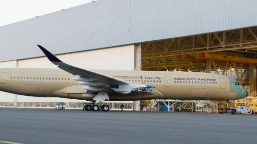 The first Ultra Long Range version of the Airbus A350 XWB will be delivered to Singapore Airlines later this year.