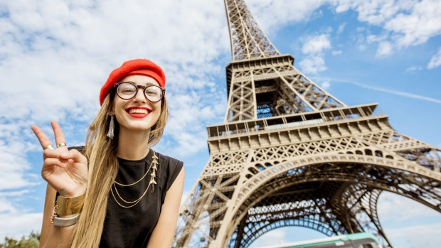 There's nothing wrong about being a ''tourist'' especially if it means you get to see the Eiffel Tower while wearing a beret.