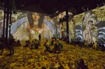 A digital gallery in Paris is making art an immersive experience for visitors who can walk into and over paintings ...