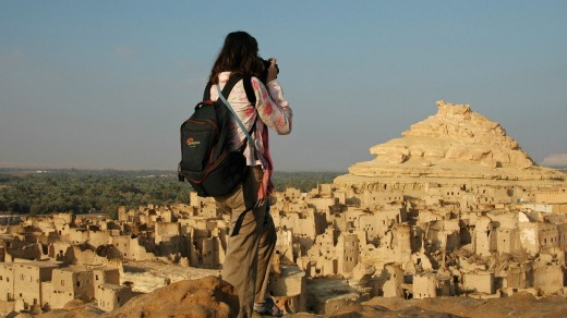 """Flight attendant Brooke Kendrick's travel advice is """"take lots of pictures""""."""