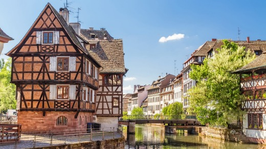 Straight out of a fairytale: House Tanners, Strasbourg, Germany