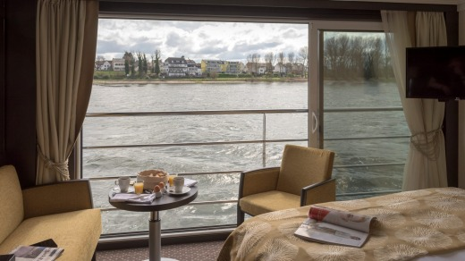 Panorama Suite aboard Avalon Waterways' Imagery II.