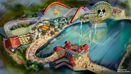 """A """"new"""" roller coaster ride, Incredicoaster, is being constructed to coincide with the premiere of The Incredibles 2."""