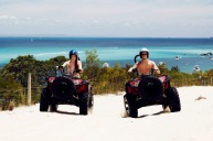 Go quadbiking on Moreton Island.