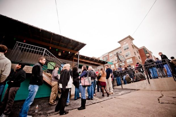 Franklin Barbecue, Austin: You want queues? Franklin Barbecue in Austin, Texas, has queues. It has queues before it ...