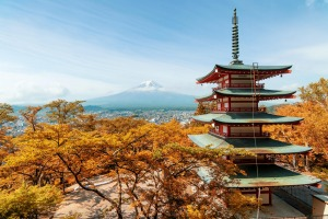 Autumn is Japan's second-busiest  tourist season.