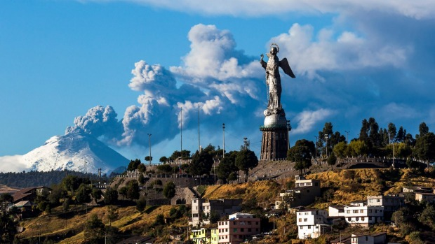 The dangers of Cotopaxi volcano paled into insignificance compared with the supposed solar threat.