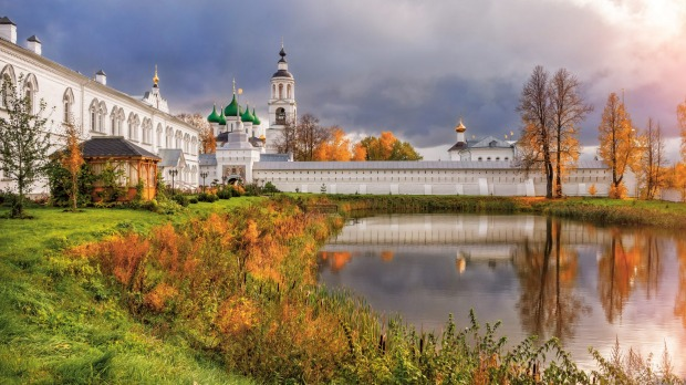Tolga Monastery, in Yaroslavl, Russia, one of the stops on Scenic's 15-day Imperial Russia river cruise.