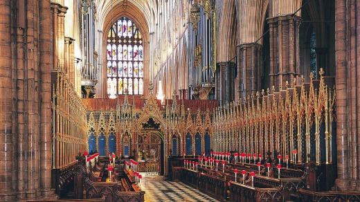Westminster Abbey is the cradle of the British monarchy.