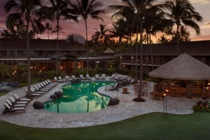 Relax at Ko'a Kea Resort, Kauai, Hawaii, with Luxury Escapes.