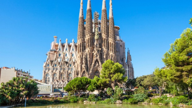 Image result for Architecture of Antoni Gaudi in Barcelona, Spain