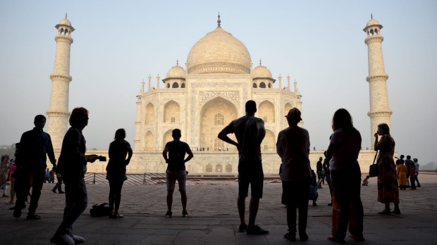 The Taj Mahal. Australians flock to India but a visa will set you back $US50.