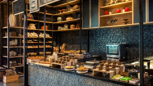There are plenty of food options at Movenpick Resort & Spa.