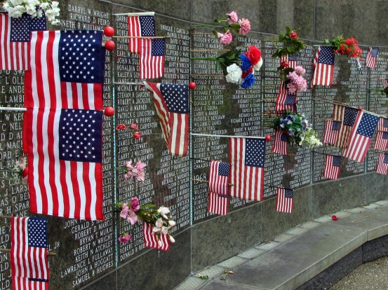 VIETNAM VETERANS MEMORIAL Remembering members of the American armed forces who died in the Vietnam War, this minimalist ...