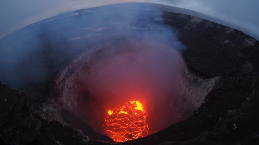 Tthe lava lake inside Kilauea volcano has now disappeared following the eruptions in May.