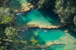 "Semuc Champey: ""It's a long, hard journey to get here but it's worth it."""