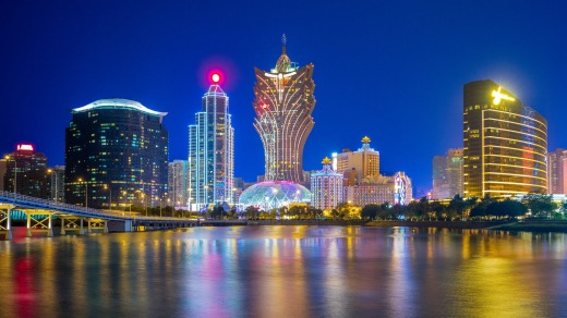 Macau receives the most visitors from mainland China.