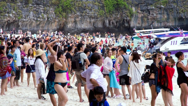 Thailand has become one of the most popular destinations for Chinese tourists.