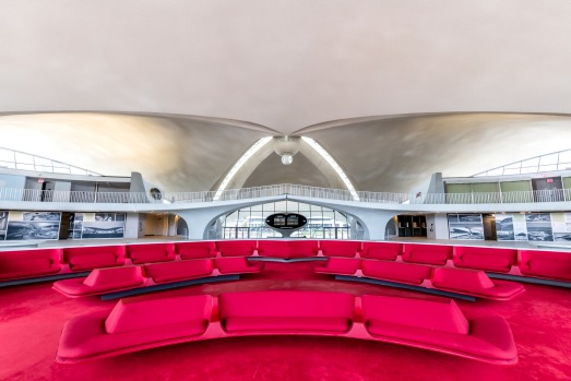 "The 512-room hotel will feature two new six-story towers that flank the old TWA terminal's ""head house,"" an ..."
