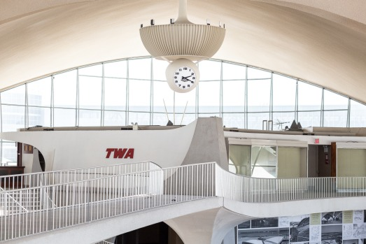 The TWA terminal was last used for flights in 2001 and has been empty since. The terminal is in the process of being ...