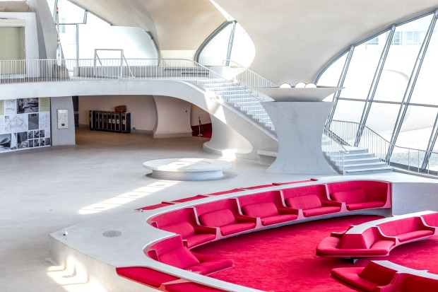 The TWA Hotel at New York's JFK Airport will open in 2019. The TWA terminal was last used for flights in 2001 and has ...