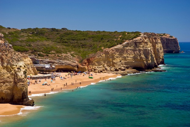 Caneiros, Portugal: Portugal's southern Algarve region is well known for its beaches, particularly uber-popular spots ...