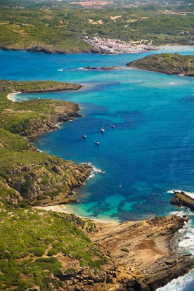 Es Grau (in the background), Spain: The Spanish island of Menorca might be popular, but it has nothing on the likes of ...