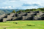 SACSAYHUAMAN Above Cusco in Peru, Sacsayhuaman – pronounced 'sexy women', as local guides will ceaselessly remind you – ...