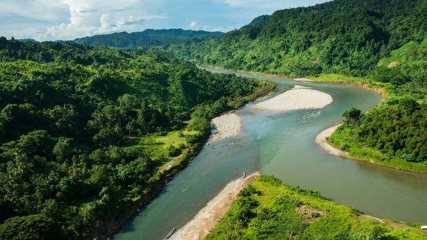 The South Pacific's best-kept secret: the Navua River in Fiji.