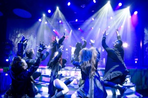 "Carnival Horizon singers/dancers perform ""Soulbound,"" a Playlist Productions' revue that offers a gothic-inspired ..."
