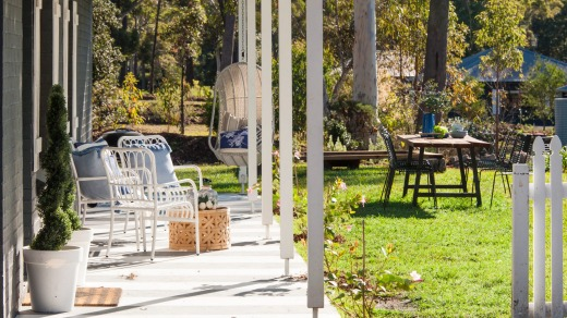 The Woods Farm offers stays in stylish three-bedroom cottages or glamping.