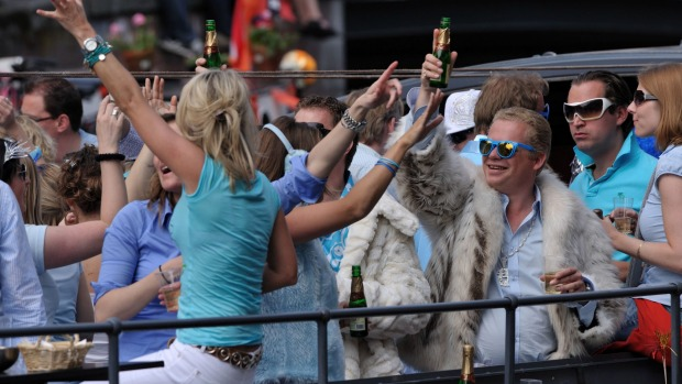 Boozy boat trips could become a thing of the past in Amsterdam.