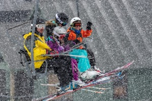 Why go to Hotham, the hardcore mountain, when our children had only skied once before?