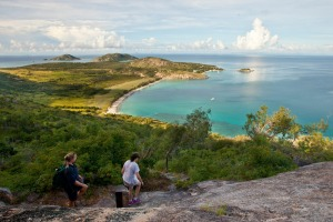 Lizard Island: Cook's Look.