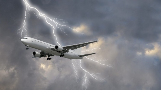 What really happens when a plane is struck by a lightning bolt?