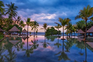 Oberoi Lombok has somehow defied the odds.