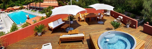 5 MONTE-CARLO BEACH HOTEL, MONACO: Though geographically a tad across the French border, this glossy, Art Deco-style ...