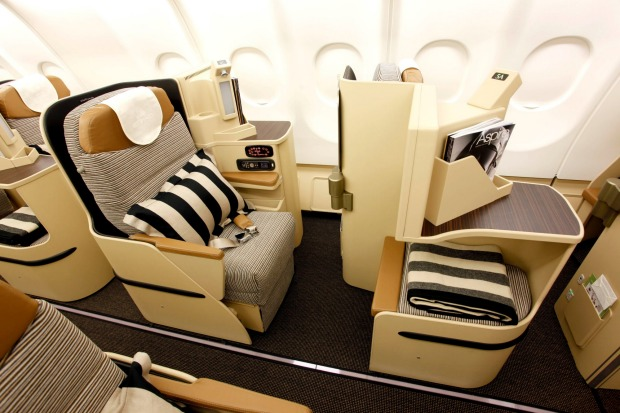 No.4 - Etihad Airways. Pictured: Business class on the Boeing 777.