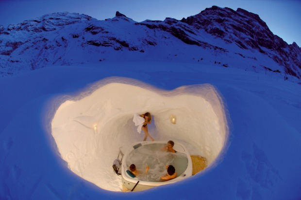 SLEEP IN AN IGLOO AT THE TOP OF THE SWISS ALPS. Catch a cable car to the top of central Switzerland and spend a night ...