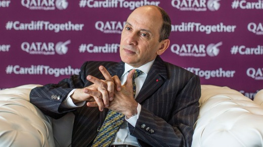 ''The Chief'': Akbar Al Baker, chief executive officer of Qatar Airways.