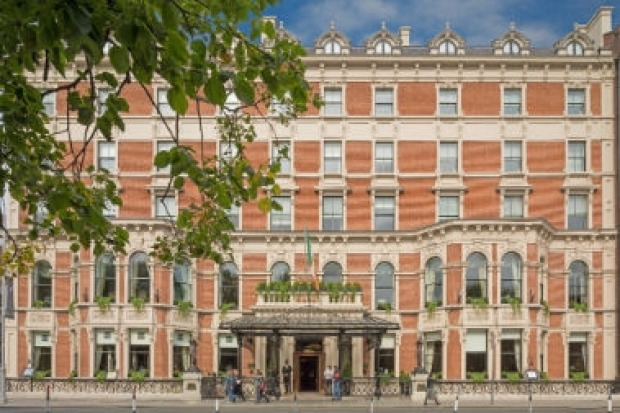 The Shelbourne, Dublin: Dublin's classic five star got in on the haunted hotel act when actress Lily Collins told of her ...